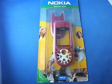Original Nokia Xpress-on Cover Fuchsia f. 3650 Facade SKR-323 Neu New Front Back