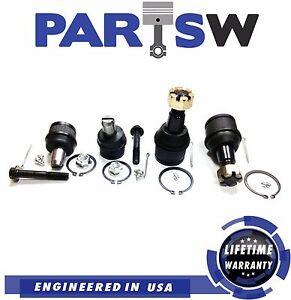 4 Ball Joints Suspension Kit for Ford Econoline E150 E250 E350 E-450 Vans SuperD