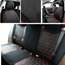 Soccer Ball Style Auto Car Seat Covers Jacquard Fabric with Zipper All Seasons