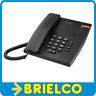 TELEFONO ALCATEL SOBREMESA PARED NEGRO 2 TONOS MARCACION MIXTA SEÑAL LUZ BD5321