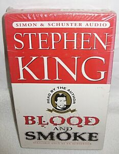 BLOOD AND SMOKE - AUDIO BOOK - STEVE KING - NEW IN PLASTIC - FREE SHIPPING