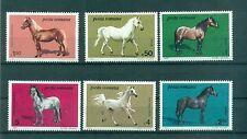 CHEVAUX - HORSES ROMANIA 1984
