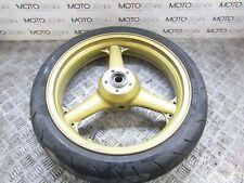 Kawasaki Ninja 600 ZX600 2000 front wheel rim with tyre