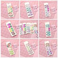 6PCS Colorful Hair Clips Cute Snaps Hairpin For Girls Kids Hair Bow Accessories