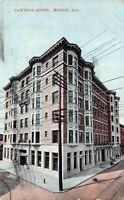 Postcard Cawthon Hotel in Mobile, Alabama~128949