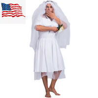 Stag Party Mens Bride Drag Queens Funny Comedy Costume Outfit US Shipping