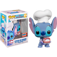 Lilo & Stitch - Stitch as Baker NYCC 2020 US Exclusive #978 Pop! Vinyl
