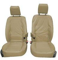 Land Rover Discovery 4 INKA Front Tailored Waterproof Seat Covers Beige MY09-16