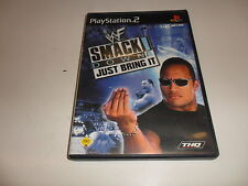 PlayStation 2 WWF SmackDown-Just trae it! (5)