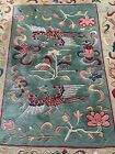 """Exceptional Tibetan Wool Rug 5'7""""wide x 6'9"""" long x 1/2"""" thick  $1500."""