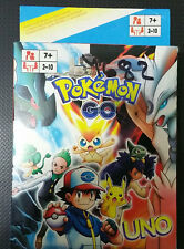 UNO playing cards game POKEMON - PIKACHU - FAMILLY BOARD GAME