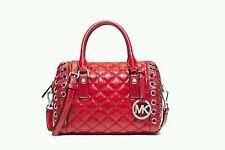 NWT Michael Kors Handbag Sophie Small Quilted Leather Satchel Shoulder Bag Purse