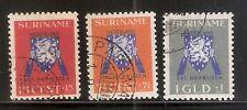 Suriname Nummer  197/199    Gebruikt.