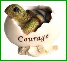 Miniature Figurine FAIRY GARDEN Baby Sea Turtle Hatching Courage Figurine 4228
