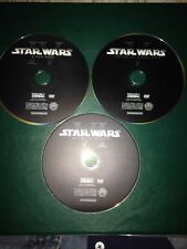 STAR WARS DVD'S ORIGINAL TRILOGY SET EPISODES 4,5,6 IV V AND VI DISCS ONLY READ