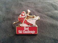 Pin's Red ski challenge Arthus Bertrand