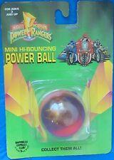 Mighty Morphin Power Rangers Mini Hi-Bouncing Power Ball MOC MIP MMPR 1994 Saban