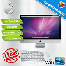 Apple Imac A1224 20 Pulgadas Core 2 Duo 2.0 - 2.4 Ghz 2 Gb Ram 160/250gb Hdd Dvd Yosemite