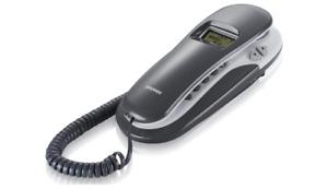BRONDI KENOBY CORDED CID TELEFONO CON FILO BIANCO/GRIGIO