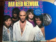 "DAN REED NETWORK - LOVER / MONEY 12"" MAXI UK MERCURY 90 BLUE VINYL FUNK METAL"