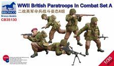 Bronco Models Cb35130 – maqueta de WWII British Parat Roops en Combat set a