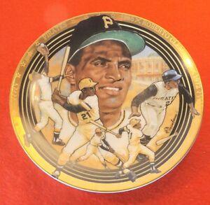 "ROBERTO CLEMENTE 1992 Hamilton Collection 6.5"" NIB #d Plate #609B - Pirates"