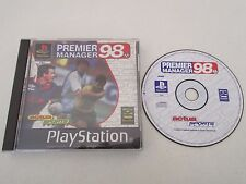 PREMIER MANAGER 98 - SONY PLAYSTATION PS1 PAL