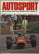Autosport Feb 28th 1969 *Mercedes 220 Road Test*