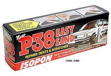 Davids Isopon P38 u Pol súper fácil Lijado Ligero Coche Llenador del cuerpo 120ml