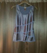 Ann Taylor LOFT Sleeveless Top Size XS Tank Shirt Navy Blue