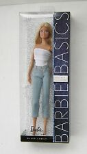 Barbie Basics Model Muse 11 Collection 002 Jeans Denim NRFB New Mint Black Label