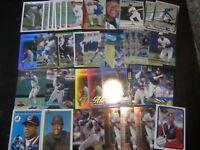 Huge Lot of 50 Roberto Alomar Baseball Cards Indians