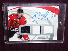 07-08 UD Sweet Shot Jonathan Toews 31/100 Auto 2CLR JSY RC Sweet Beginnings L@@K