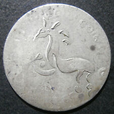 Advertising medallion - Wood Coins ? image of ancient horse counterstruck Vic 6d