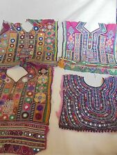 wholesale 05 pieces VINTAGE Small Banjara Neck Yoke Embroidery Patch