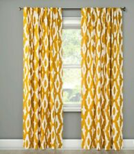 "Project 62 Light-Filtering Curtain Panel 54""w by 84""L Summer Wheat New Mustard"