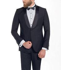 Smoking Hochzeitsanzug 2-tlg Muga Gr.50 Schwarz