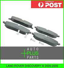 Fits LAND ROVER ROVER DISCOVERY III 2005-2009 - PAD KIT, DISC BRAKE, FRONT - KIT