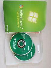 Microsoft Windows 7 Home Premium 32 & 64 Bit Full Install Retail Box with SP1
