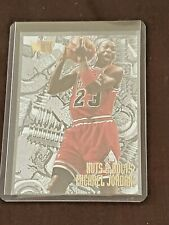 Michael Jordan 1995-96 Fleer Metal Nuts & Bolts Insert Card #212 Bulls HOF GOAT