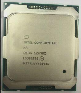 Intel xeon E5-2630V4 ES QK3G CPU 10-core 2.1G compatible X99 motherboard process