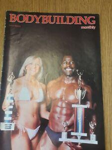 Vintage Bodybuilding Monthly Magazine Vol 1 No 10 Body building Muscle Flex