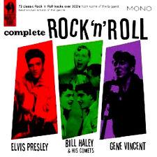 ELVIS PRESLEY / BILL HALEY / GENE VINCENT ~ COMPLETE ROCK AND ROLL CD BOX SET