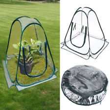 Portable Clear PVC Greenhouse Flower Cover Warm House Garden Plant Foldable Tent