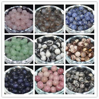 4MM/6MM/8MM/10MM Lot  Natural Stone Gemstone Round Spacer Loose Beads Wholesale