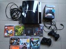 Playstation 3 + 7 juegos + 2 pad Lote