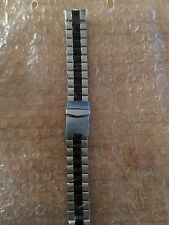 New & Wrapped Invicta 20MM Stainless Steel & Black Center Links Watch Bracelet