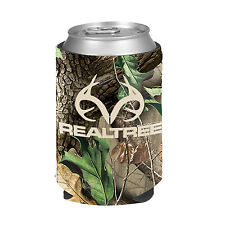 Hunting Insulated Neoprene Bottle and Can Coolers - Browning-MossyOak-Vista-RT