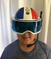 Hasbro 2008 Playskool Helmet Talking Lights Sound Police Cop Officer Cosplay
