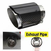66mm-101mm Embout Arrière Silencieux Pot d'échappement Style Fibre carbone Auto